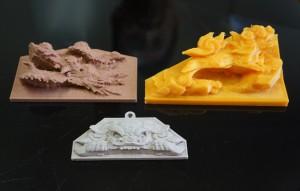 地車の彫物復元